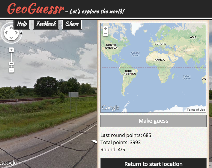 GeoGuessr uses Google Street View to create the most addictive time-wasting game on the planet.