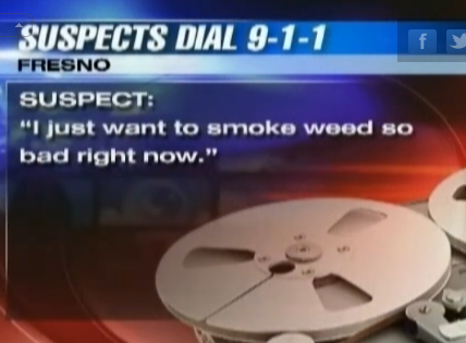 Burglars accidentally butt-dial 911 mid-burglary, talk about smoking weed.