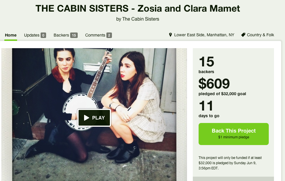 How to use a celebrity's obnoxious crowdfunding project for your own personal gain.