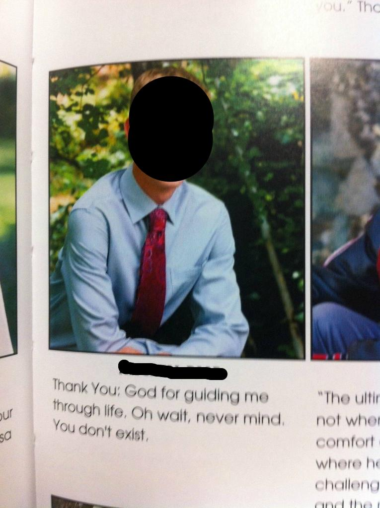 17 of the most hilarious things to ever be printed in a yearbook.