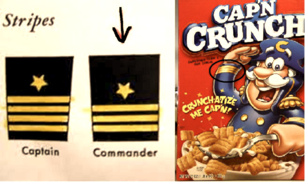 Controversy erupts over whether Cap'n Crunch is a real captain or filthy lying scumbag.