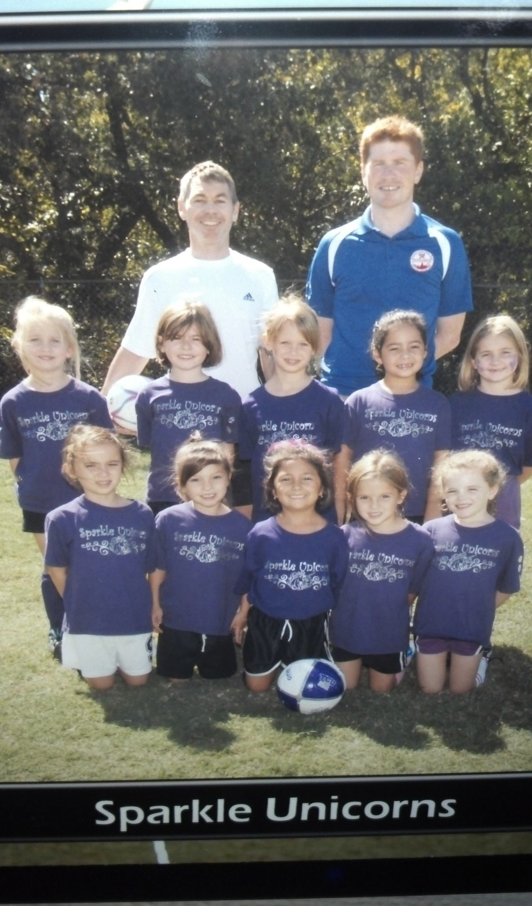 Little girls allowed to name their own soccer team make strong case for letting little girls name everything.