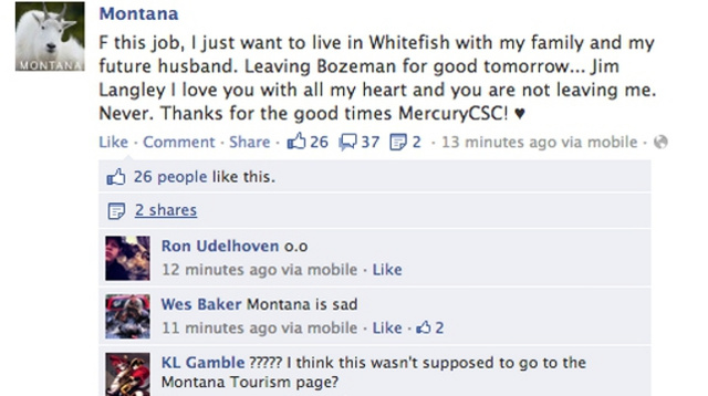 The Most Humiliating Accidental Status Updates Ever Posted On Facebook