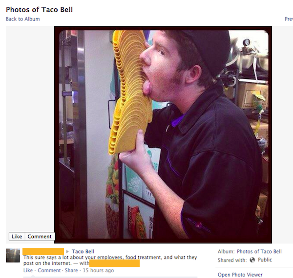 17 employees who got busted by their bosses on Facebook.