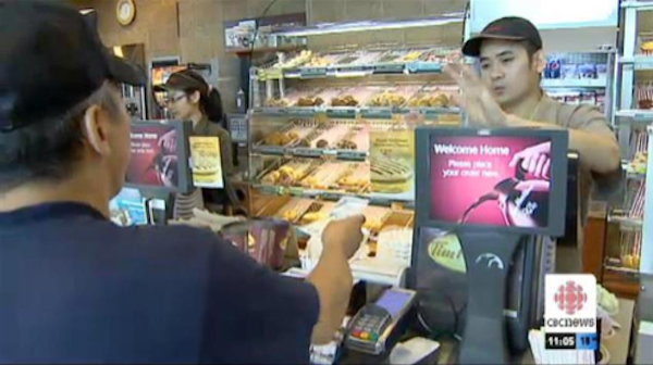 A man bought himself a morning coffee and doughnut. Then he bought coffee for the next 500 people in line.