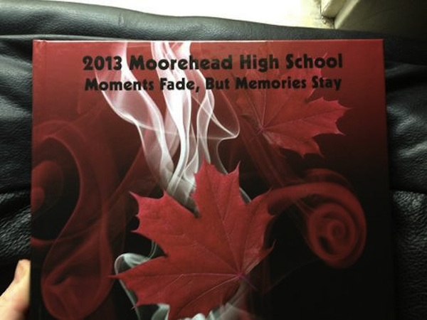 A Minnesota high school spelled its own name wrong on the cover of the yearbook.