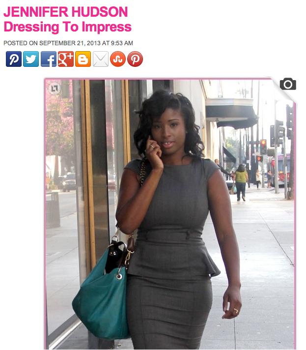 Innocent pretty lady mistaken for Oscar-winning celebrity by Internet paparazzi.