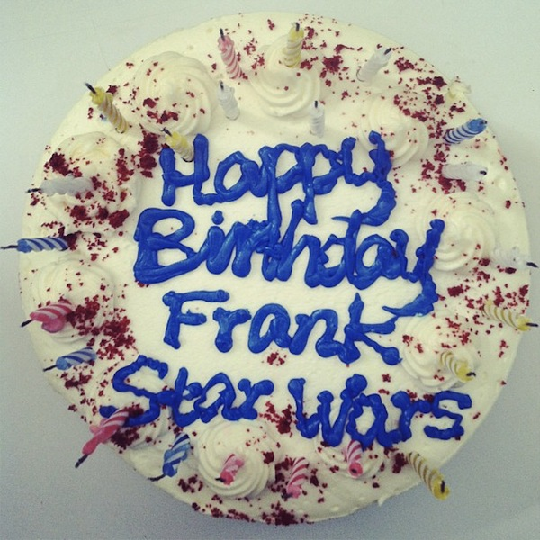 The laziest Star Wars birthday cake of all time.
