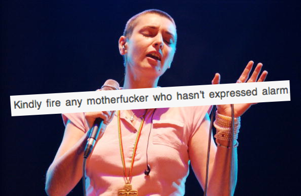 In a fantastic open letter to Miley Cyrus, Sinead O'Connor gives Miley the advice she so desperately needs.