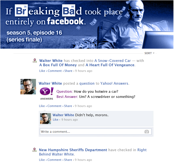 5 Breaking Bad tributes created by Breaking Bad fans who, like you, just can't seem to let go. (SPOILERS)