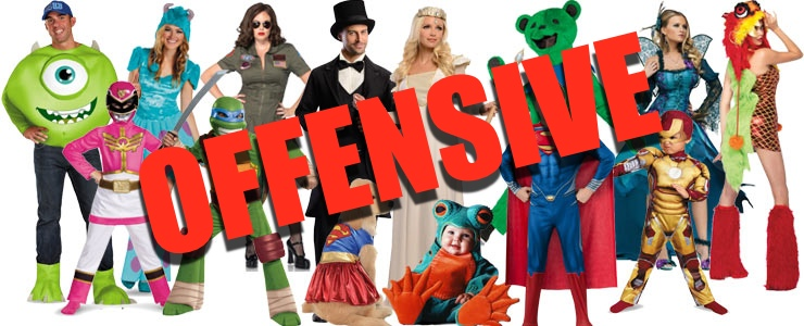 8 common Halloween costumes you probably didn't know were horribly offensive.