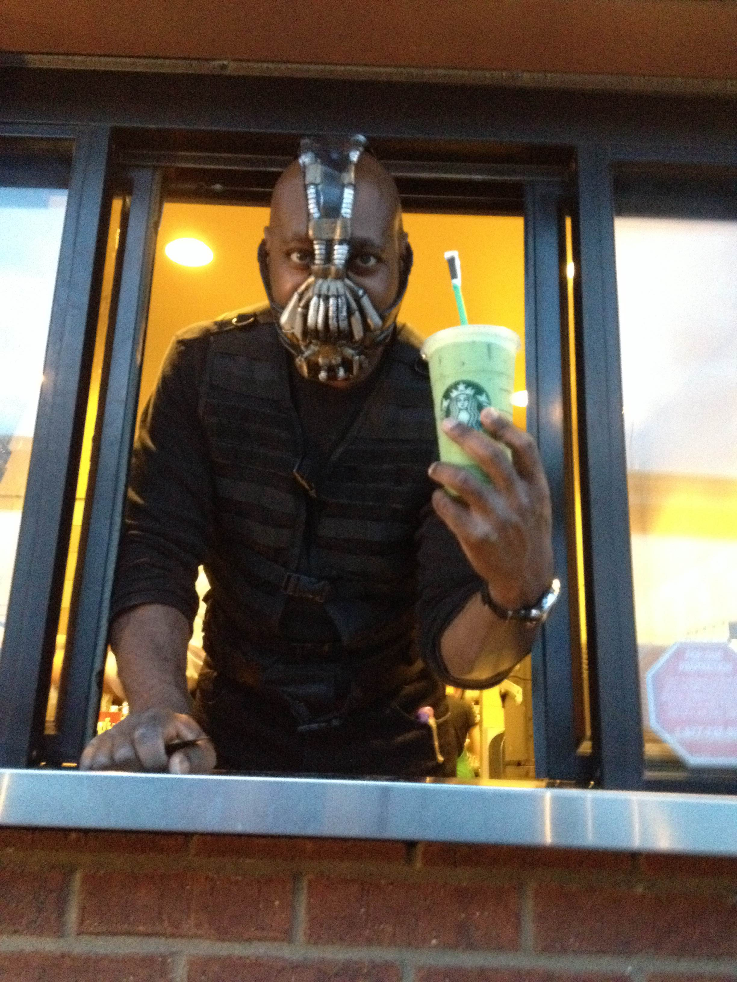 the best pictures of people wearing halloween costumes at work - Halloween Costumes Bane