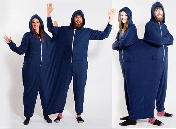 The Twinsie is a wonderful idea for couples with terrible taste.