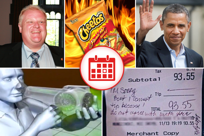 5 Things You Should At Least Pretend To Know Today - November 15, 2013