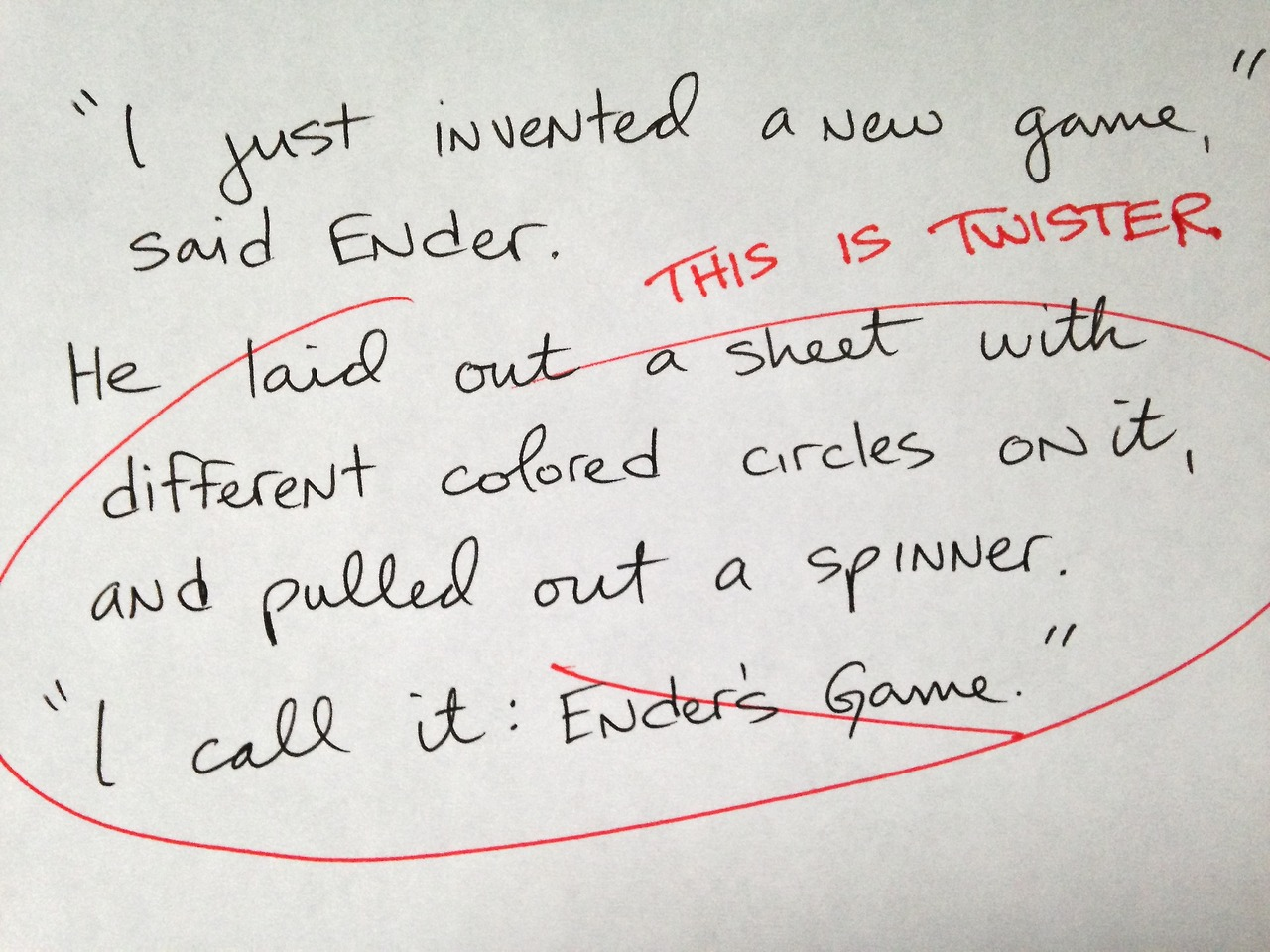 "Here's what the ""shit rough drafts"" of your favorite books may have looked like."