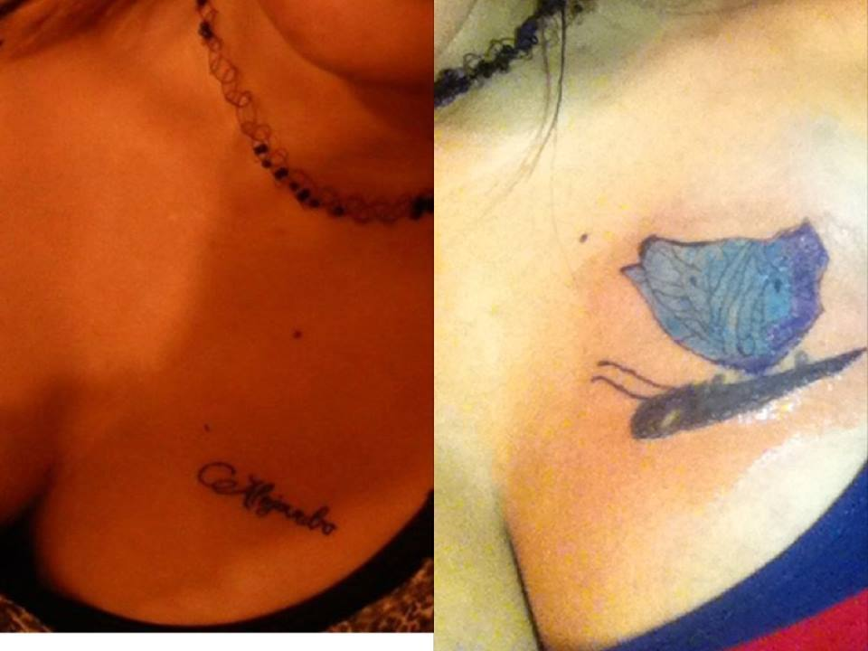 Heartbroken People Who Had To Cover Up A Tattoo Of An Ex After A