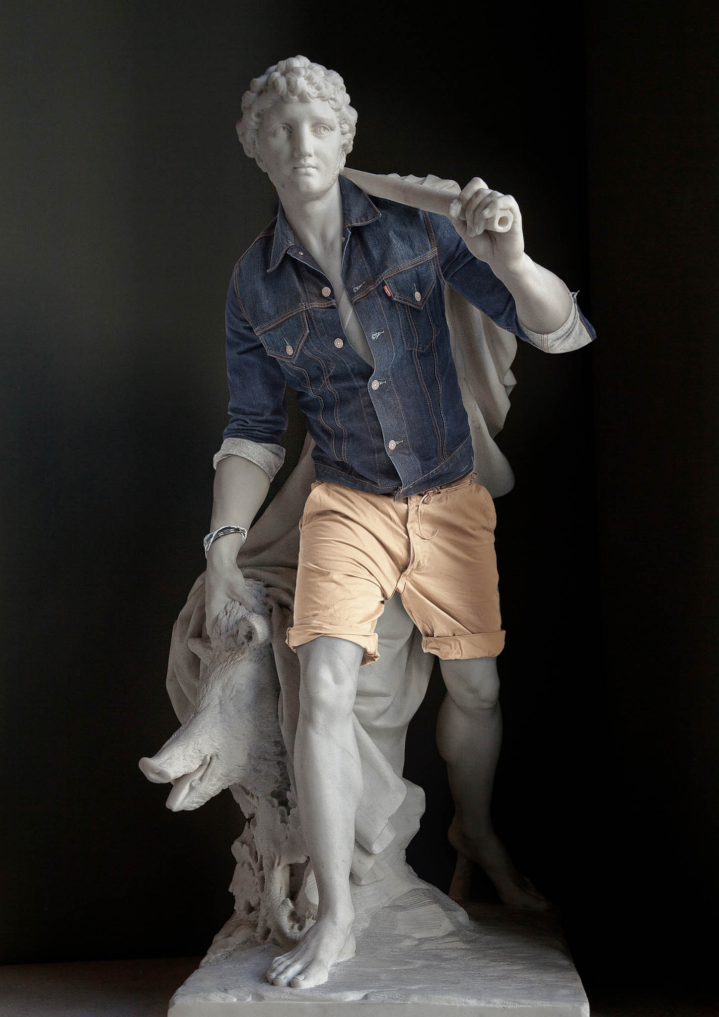 These hipster clothes on classic sculptures will leave you annoyed by art in a whole new way.