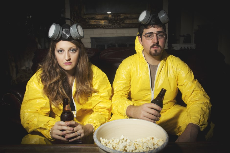 Will these Breaking Bad engagement photos lead to an A1 wedding?