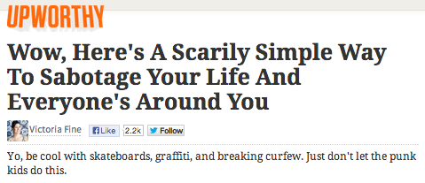 We clicked on these misleading Upworthy headlines so you don't have to.