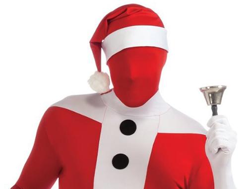 Is this the creepiest Santa Claus costume ever?