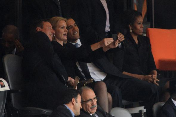 Is there a love triangle between Obama, Michelle, and the Danish Prime Minister? Or does the Internet just have a big imagination?