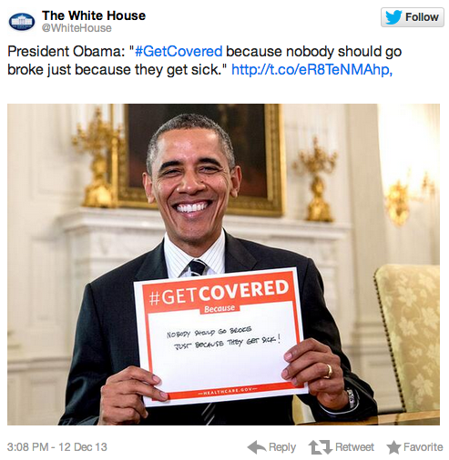 The White House tweeted a picture of Obama holding a sign and the Internet responded like 3rd graders. Hilarious 3rd graders.