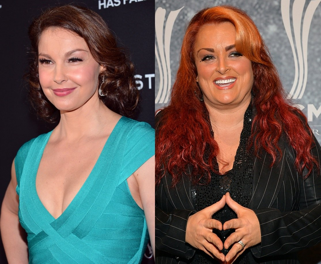 Ashley Judd says Wynonna Judd put a tracking device on her car, putting them on track for an awkward Christmas.