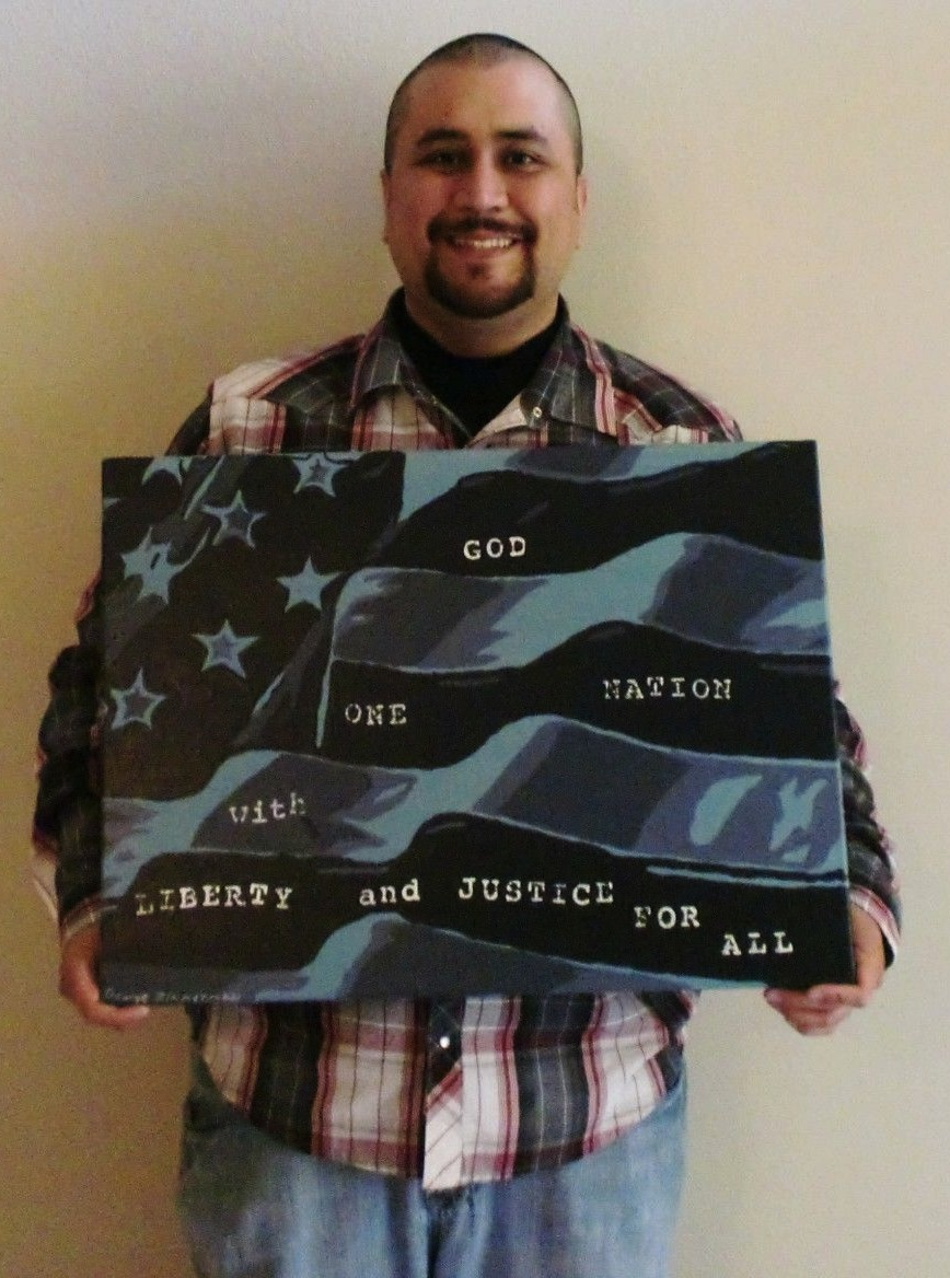 George Zimmerman is selling his paintings on eBay for $100,000 right after domestic violence charges were dropped.