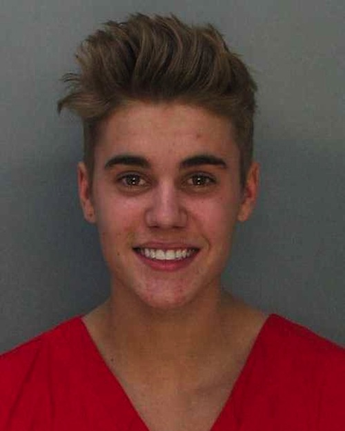 Is Justin Bieber's mug shot just the most adorable gosh darn pic of a substance abusing overgrown tween you ever did see?