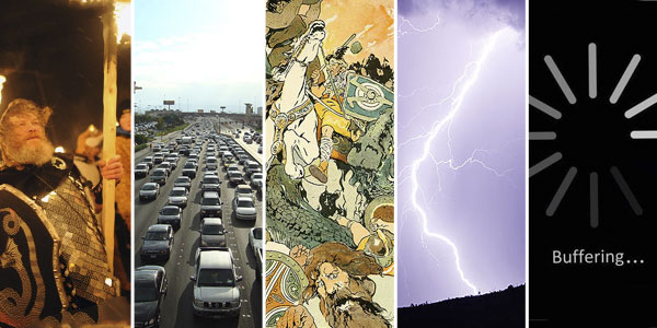 5 things to expect during tomorrow's Ragnarok, the Norse apocalypse.