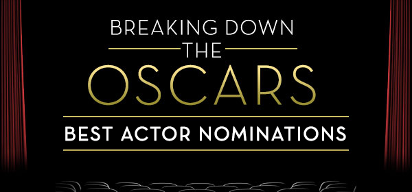 Breaking down the Oscars: Best Actor nominations.