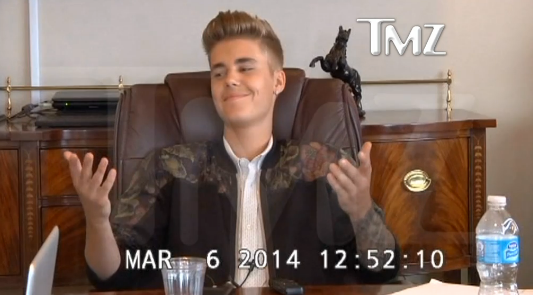 Justin Bieber's deposition videos have been leaked, and they are magical.