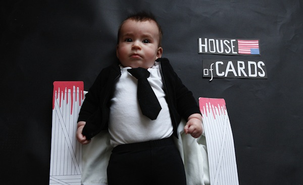 An artist dressed up her friend's baby like all your favorite TV characters.