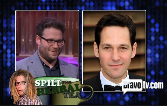 Seth Rogen listed the famous people he's smoked pot with.