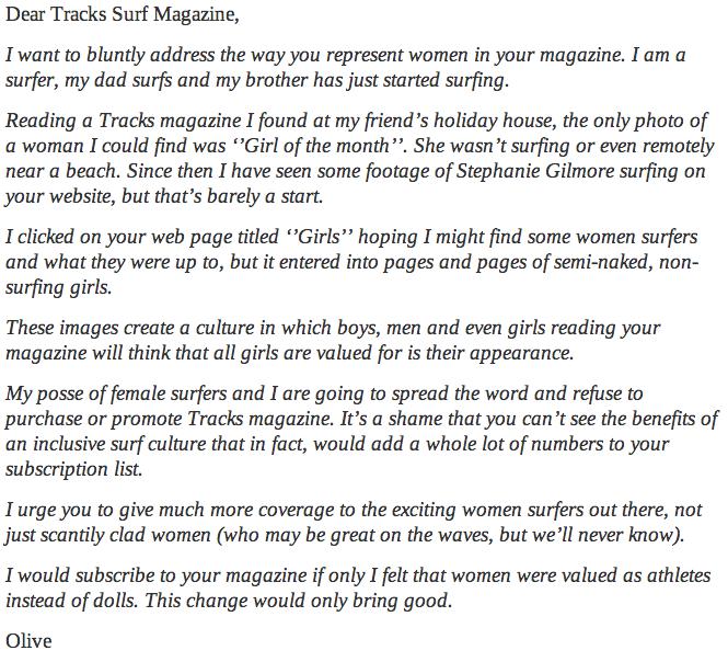 year old surfer girl destroys surfing magazine for only showing 13 year old surfer girl destroys surfing magazine for only showing women lounging in bikinis