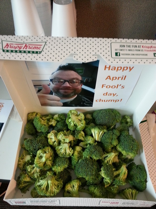The best of normal people's April Fool's pranks yesterday.