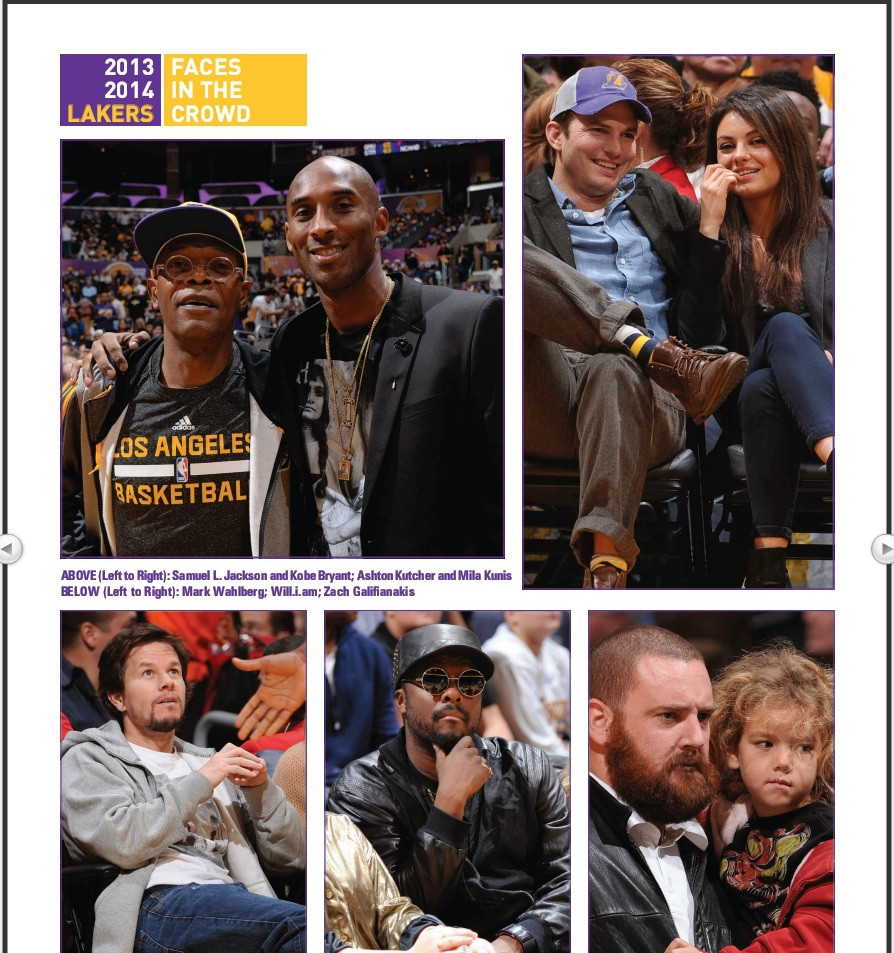 The LA Lakers accidentally identified a random white guy with a beard and a baby as Zach Galifinakis.