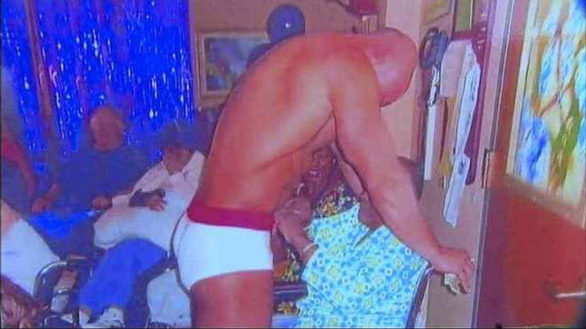 man suing nursing home for hiring stripper for his mom, Birthday card