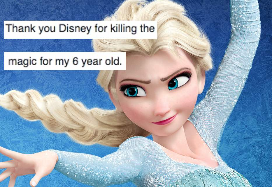 Mom writes depressing post on Facebook about how the shortage of 'Frozen' dolls is destroying her daughter's childhood.