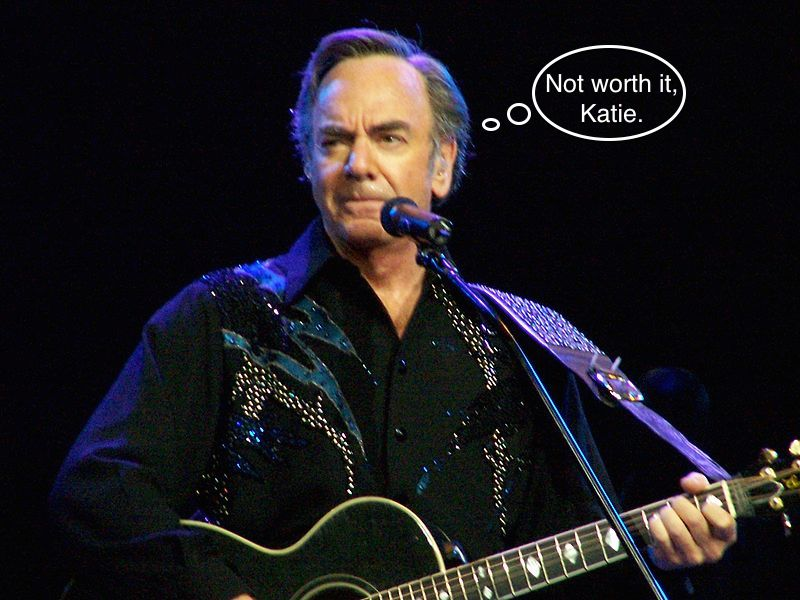Roaming charges suck: Woman who only kinda likes Neil Diamond charged $4,363 for downloading his album.