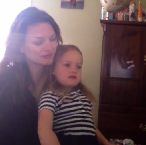 Little girl has best possible answer to mom asking her what she wants to be when she grows up.