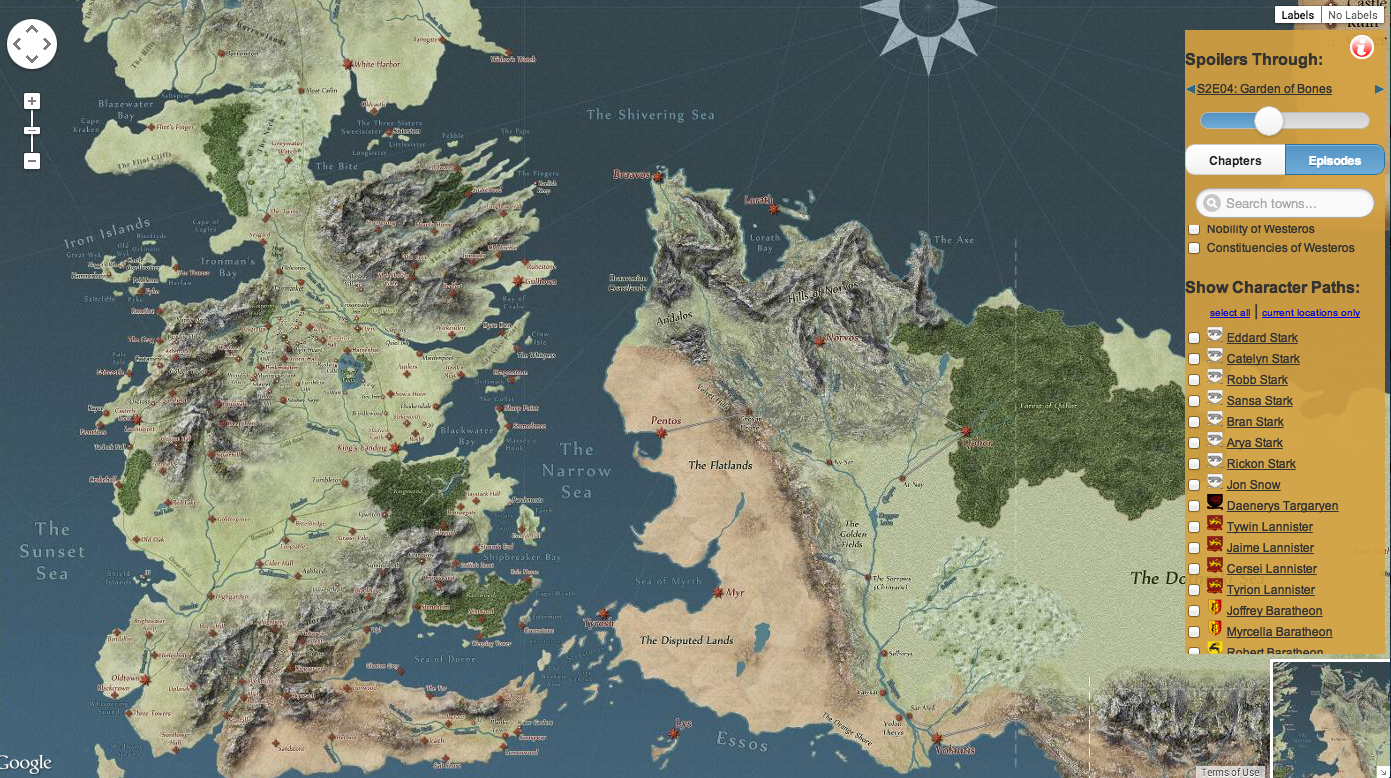 This interactive map pretty much has everything that happens in this interactive map pretty much has everything that happens in game of thrones show and books gumiabroncs Image collections