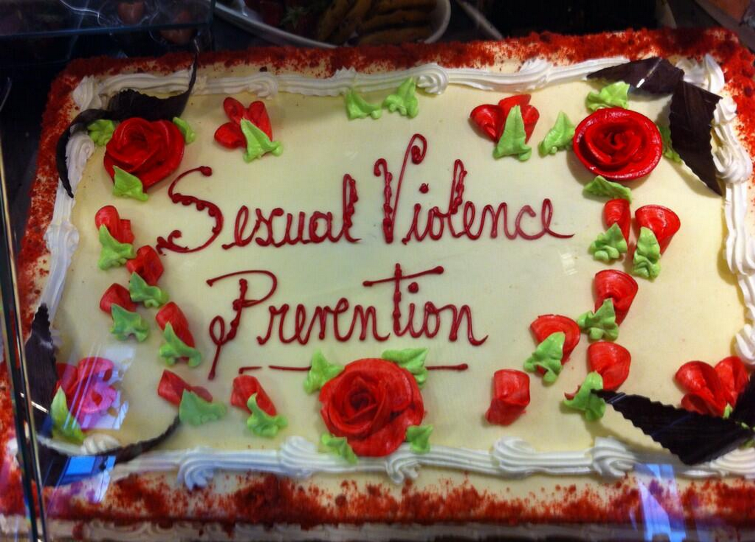 Columbia University's dining hall marked Sexual Assault Awareness Month by serving up a terrible idea.
