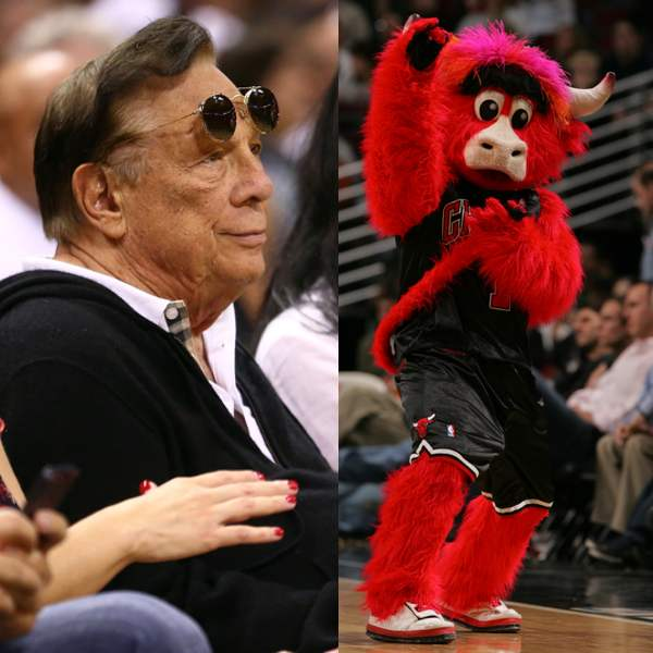 Chicago Bulls mascot Benny The Bull weighs in on the Donald Sterling scandal.