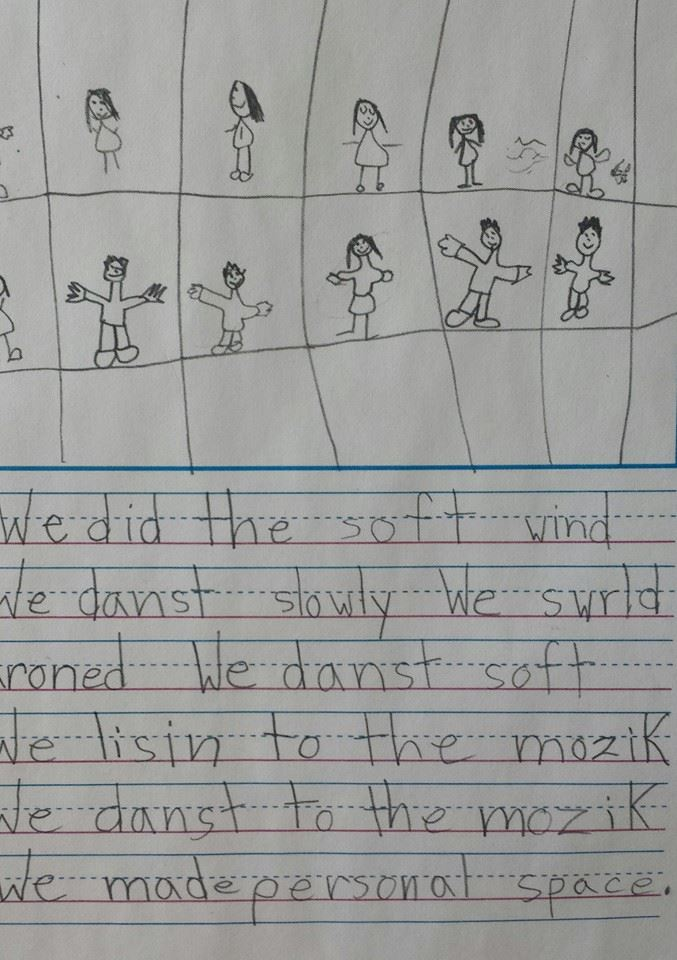 First grader (probably) accidentally writes greatest poem ever.