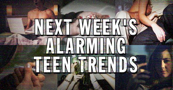 Next week's alarming teen trends: Snail Poopin', Reckless YouTubin', and Cumcakin'.