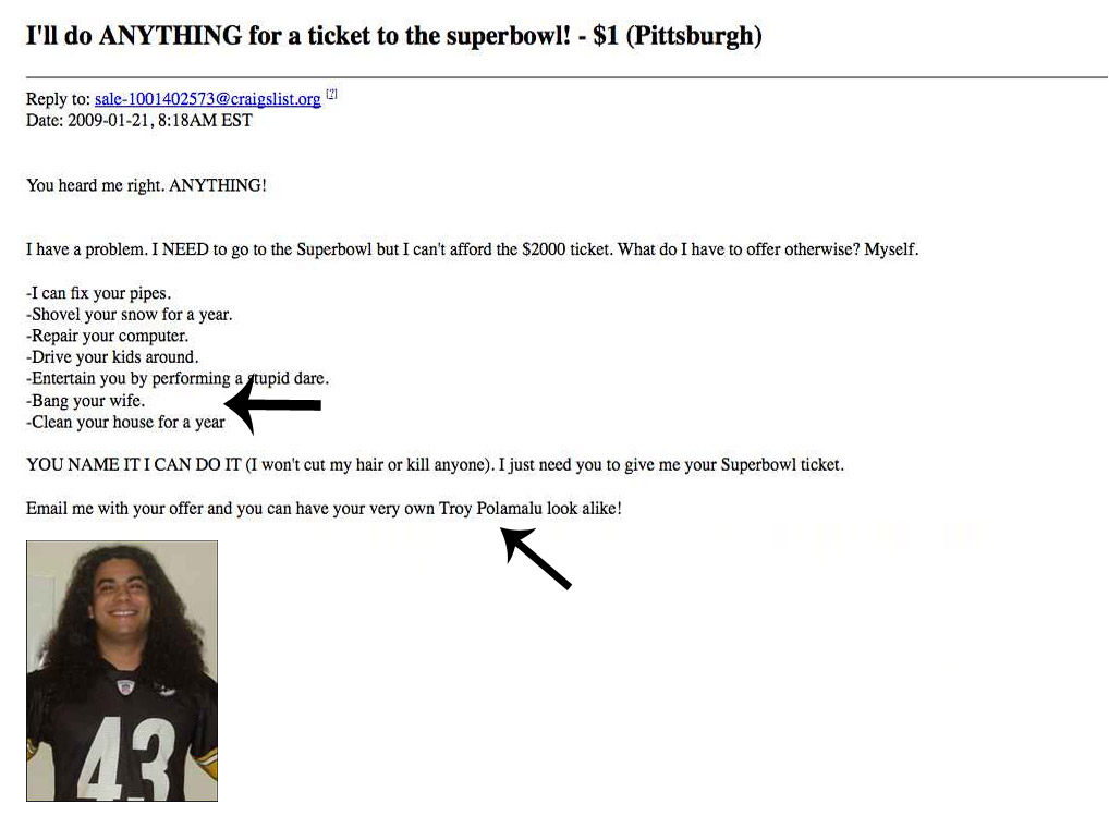 The most insane things people have done for Super Bowl tickets.