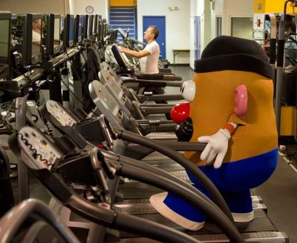 The 48 most absurd things ever seen at the gym aside from you.