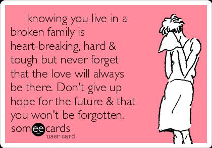 parents break up relationship ecards