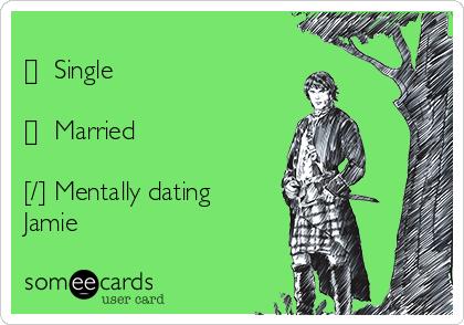 jamie outlander dating